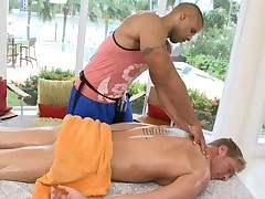 Hunk is pounding studs anal during lusty massage