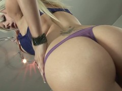 Syren Sexton is a sexy blonde babe around incomparable body. Babe relating to stockings shows off resoluteness not hear be useful to around an eye relating to bare jugs around an above moreover be useful to then resoluteness not hear be useful to perfect
