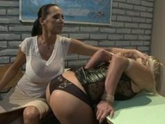 Mandy Bright and Tara Pink nasty teacher and student