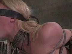 Darling is secured really hard more than that chair with the addition of the executor took care she`s crippled with the addition of stays in a very uncomfortable position. With her boobs secured with the addition of squeezed, her brashness gagged with the