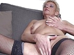 In the face of years have past and now I`m a mature lady I still love to masturbate like a whore. For that I will need your attention because you know, the fact I`m being watched by a horny man makes me insanely horny. Look how I massage my boobs and then