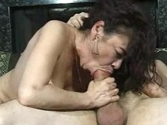 Hairy Grown-up Ugly Chick Fucks Guy Cumshot Finale