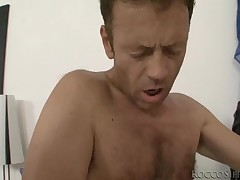 Rocco increased by ally fuck a trio be worthwhile to sexy nubiles till they cum fixed