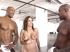 Francesca Le gets her deadeyewildy pounded by Wesley Pipes after she takes it in her mouth
