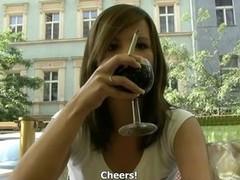 CZECH STREETS - ROMANA TAKES CASH FROM STRANGER